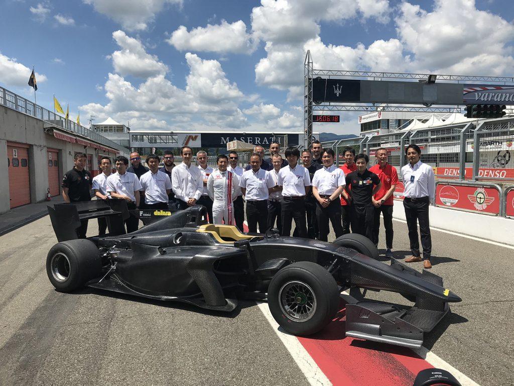 sf19 track test super formula official website
